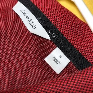 Calvin Klein Shirts - Calvin Klein Dress Polo Zipper Shirt - Small